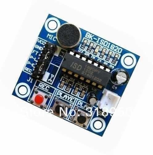Módulo Gravador De Voz E Player Lsd1820 - Arduino