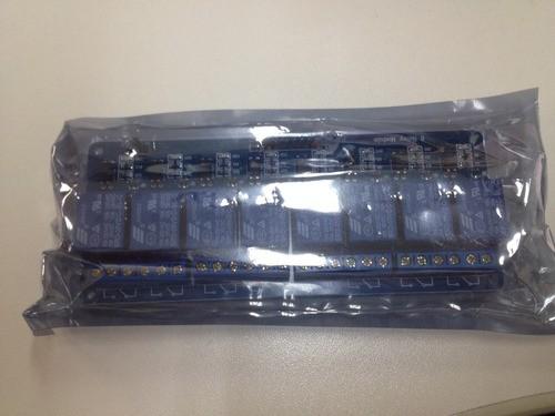 Módulo Relé Arduino 8 Canais 5v 10a Arduíno, Pic Automoção