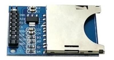 Módulo Sensor Leitor Cartão Sd Shield Card Arduino Arm Pic