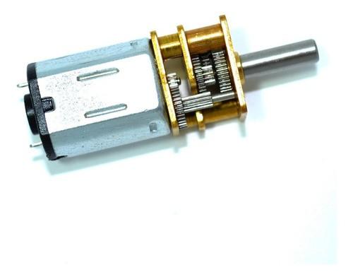 Motor Dc 12v 100rpm Com Caixa De Redução