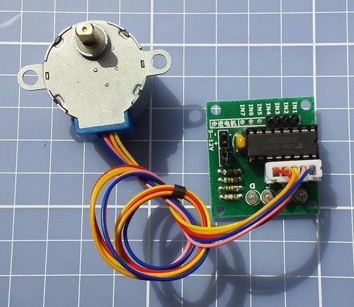 Motor De Passo 28byj-48 5v 5 Fios+ Driver Uln2003 Arduino
