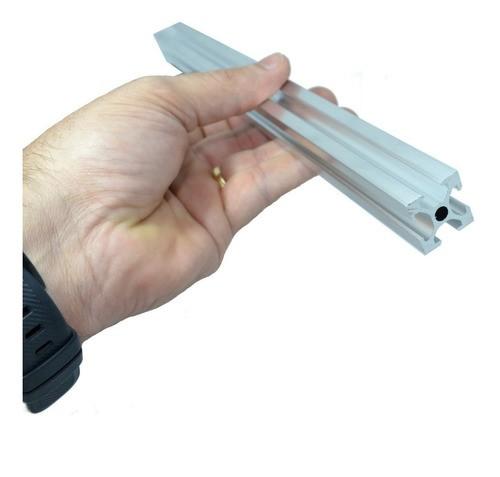 Perfil De Alumínio Estrutural V-slot 20x20 - Hypercube