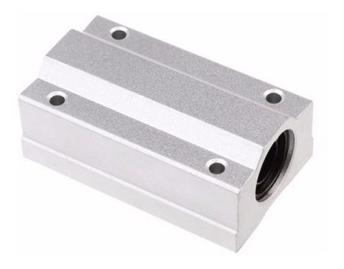 Pillow Block Sc8luu Com Rolamento Para Guia Linear 8mm