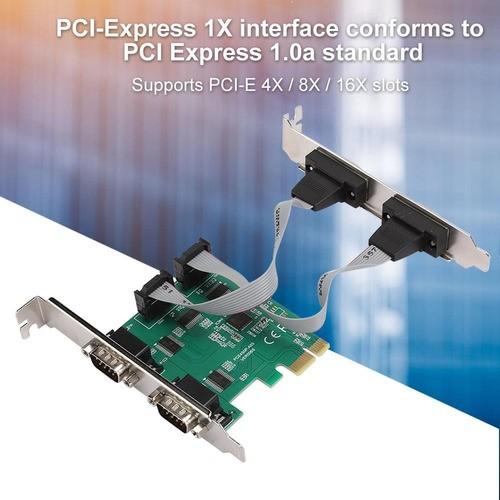 Placa De Expansão Serial Para Desktop Pci-e Quad Express 4