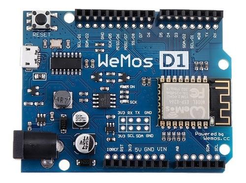 Placa Desenvolvimento Wi-fi Wemos D1 R2 Esp8266 Esp12 Full