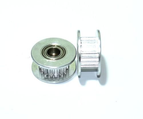 Polia Gt2 20 Dentes Com Rolamento Furo 5mm