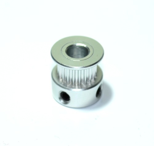 Polia Gt2 20 Dentes - Furo 6.35mm Para Correia 6mm - Cnc/3d
