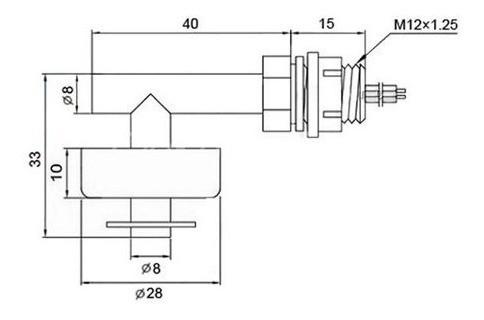 Sensor Modulo Nivel Lateral Água Arduino Aquário Controler