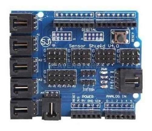 Sensor Modulo Shield V4 Arduíno V 4.0