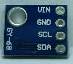 Sensor Pressão Atmosférica Barômetro Bmp180 Arduino / Pic