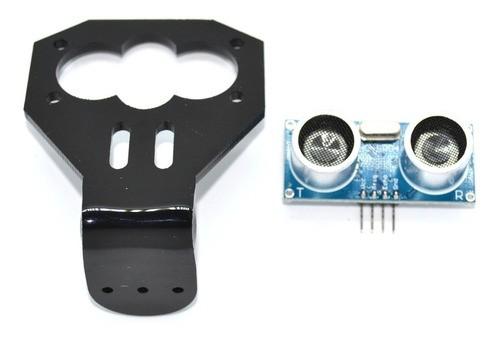 Sensor Ultrassônico Hc-sr04 Com Suporte - Arduino / Pic
