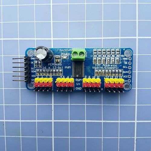 Servo Driver 16-channel 12-bit Pwm I2c Arduino