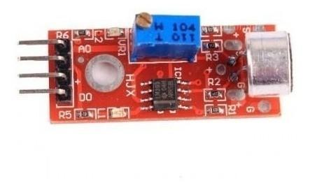 Shield Arduino Detector De Som C/ Trimpot E Microfone Ky037