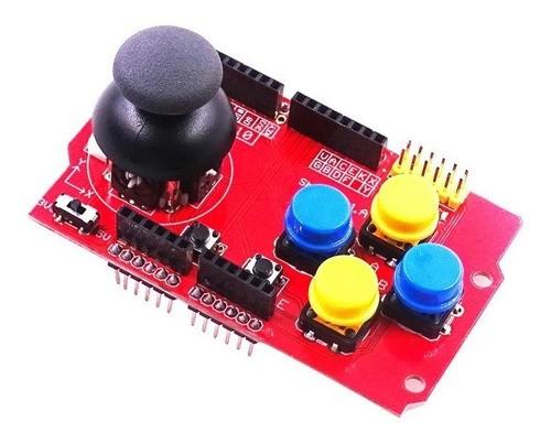 Shield Joystick Ps2 Gamepads Robo Projeto Automação - Full