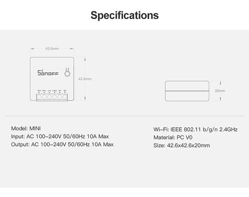 Sonoff Mini R2 Automação Residencial - Paralelo / Three Way