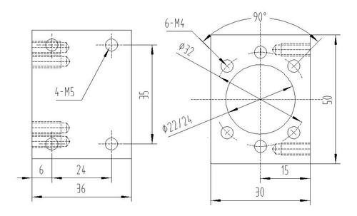 Suporte Castanha Fuso De Esferas 12mm Sfu1204 - Full