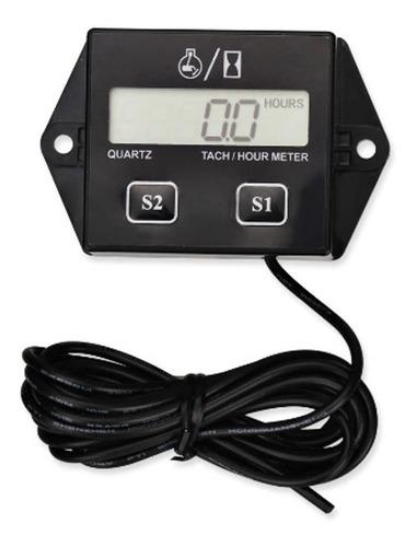 Tacômetro Horímetro Digital Rpm Hora Moto Carro Barco - Full