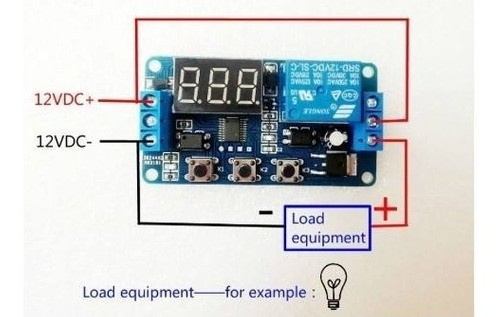 Temporizador Ajustável 4 Operações 0,1-999 S - 0-999 Min
