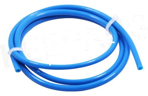 Tubo Ptfe Teflon Azul Impressora 3d 4x2mm 1 Metro Full