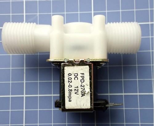 Válvula Solenóide 12v 1/2 Arduino Irrigação Aquário