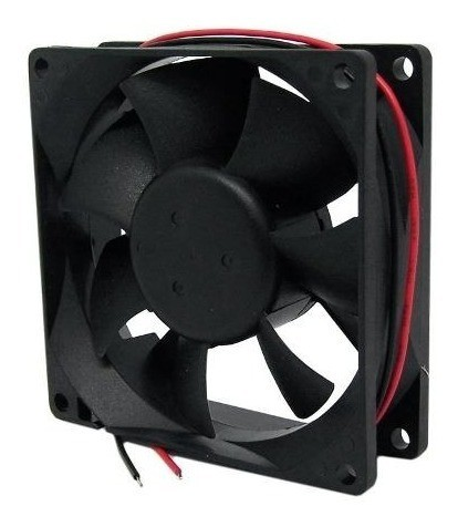 Ventilador Cooler Ventoinha 80x80x25mm 12v