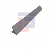 Perfil de Silicone para Forno Tipo V - Cinza