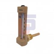 Termômetro tipo Capela Angular 50°C haste 50mm