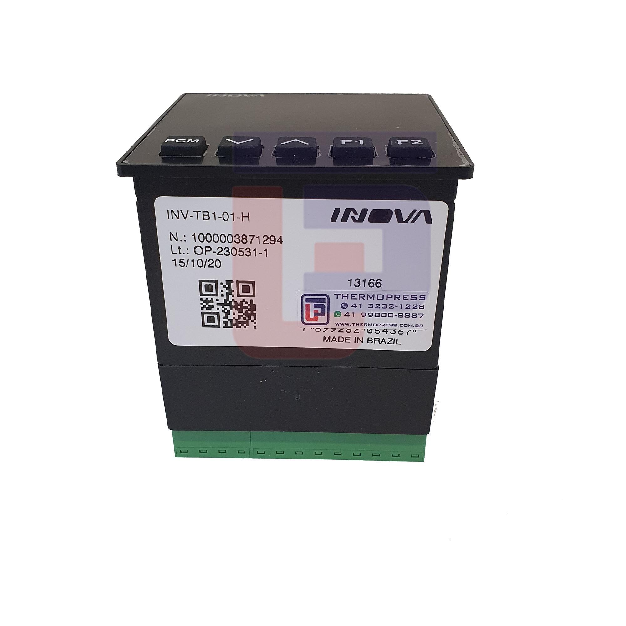 Acionador Eletrônico / Temporizador INV-TB TB1-01-H  85-250V / INV-20401