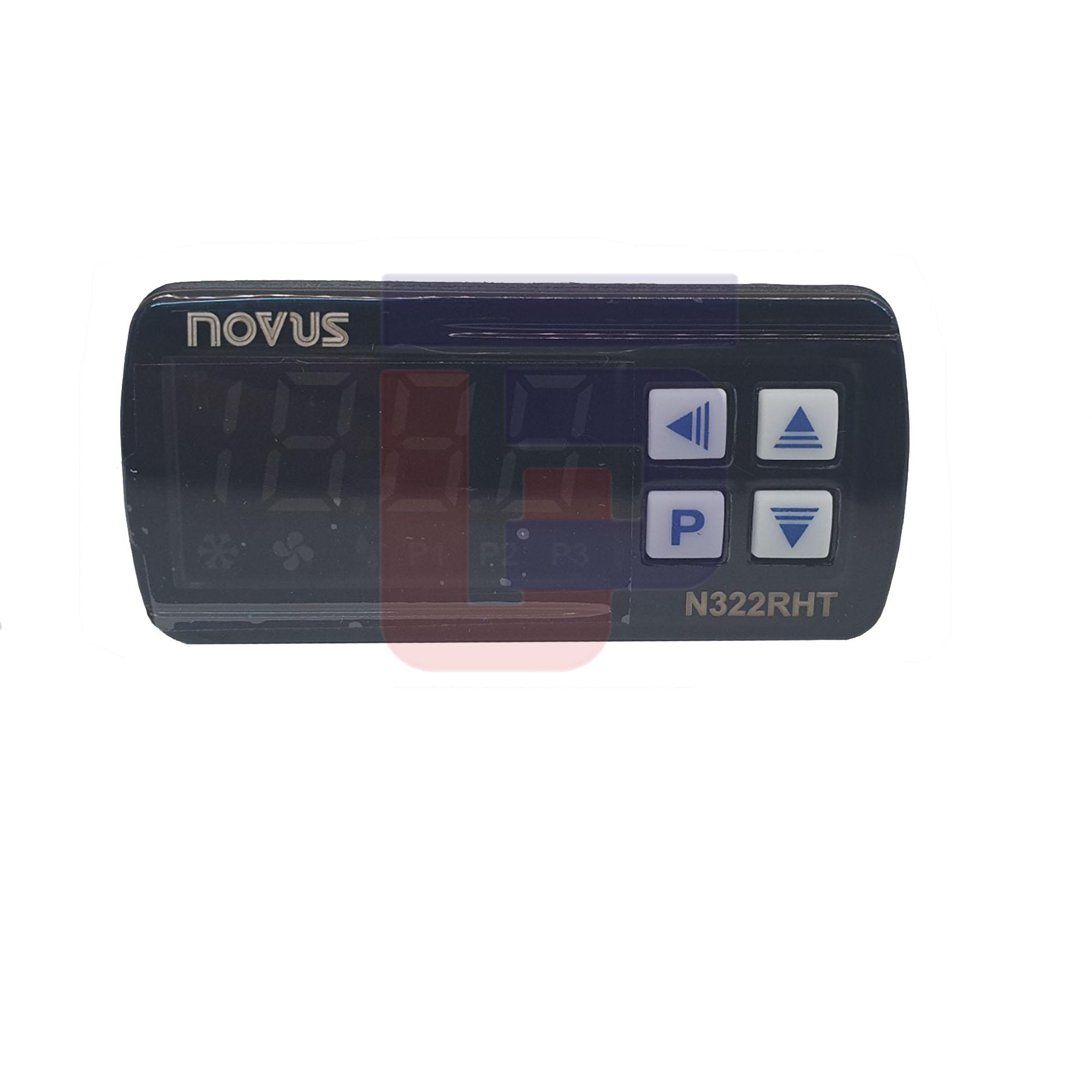 Controlador de Umidade e Temperatura N322-RHT