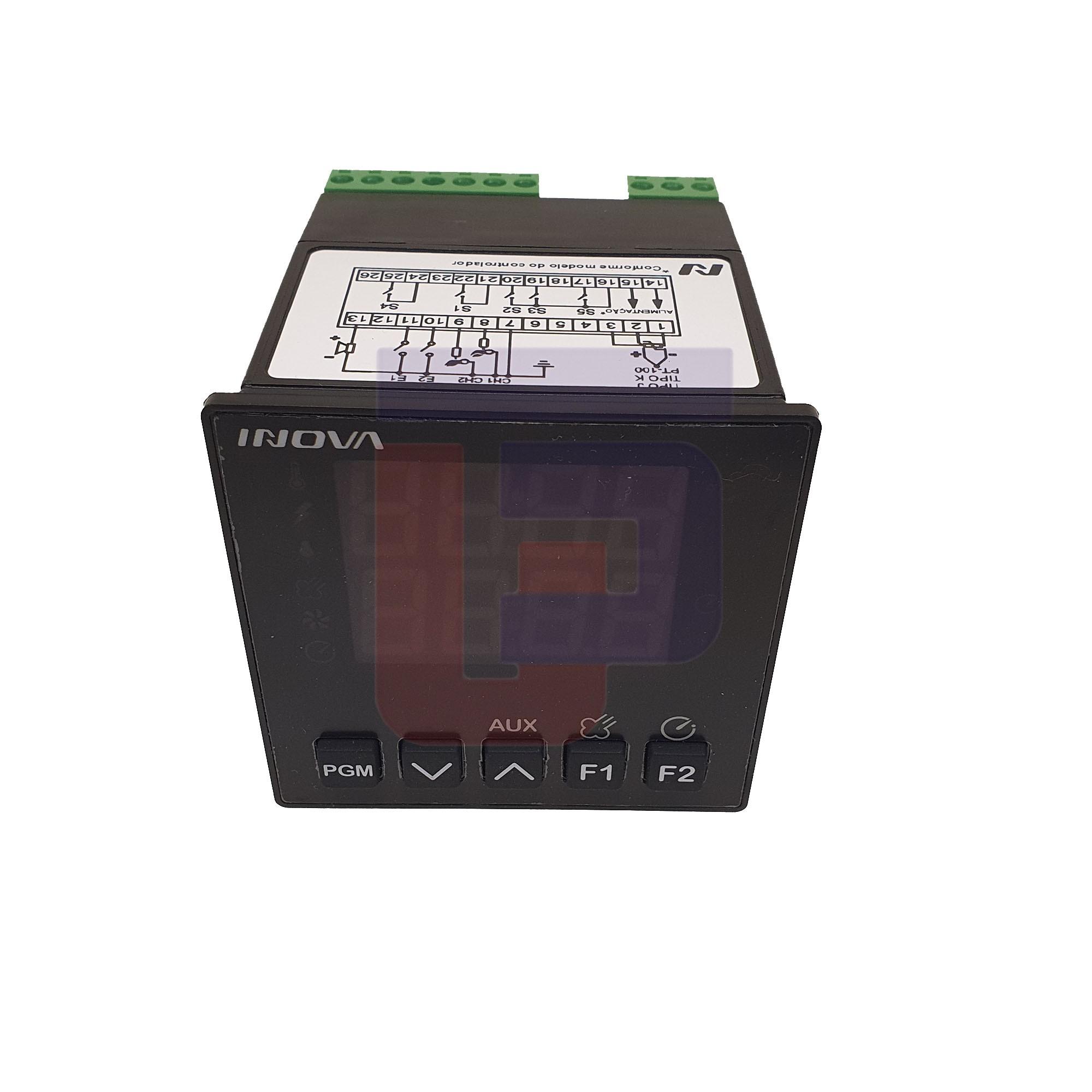 Controlador Tempo/Temperatura INV-YB YB1-11-J-H  85/250 VAC / INV-20011