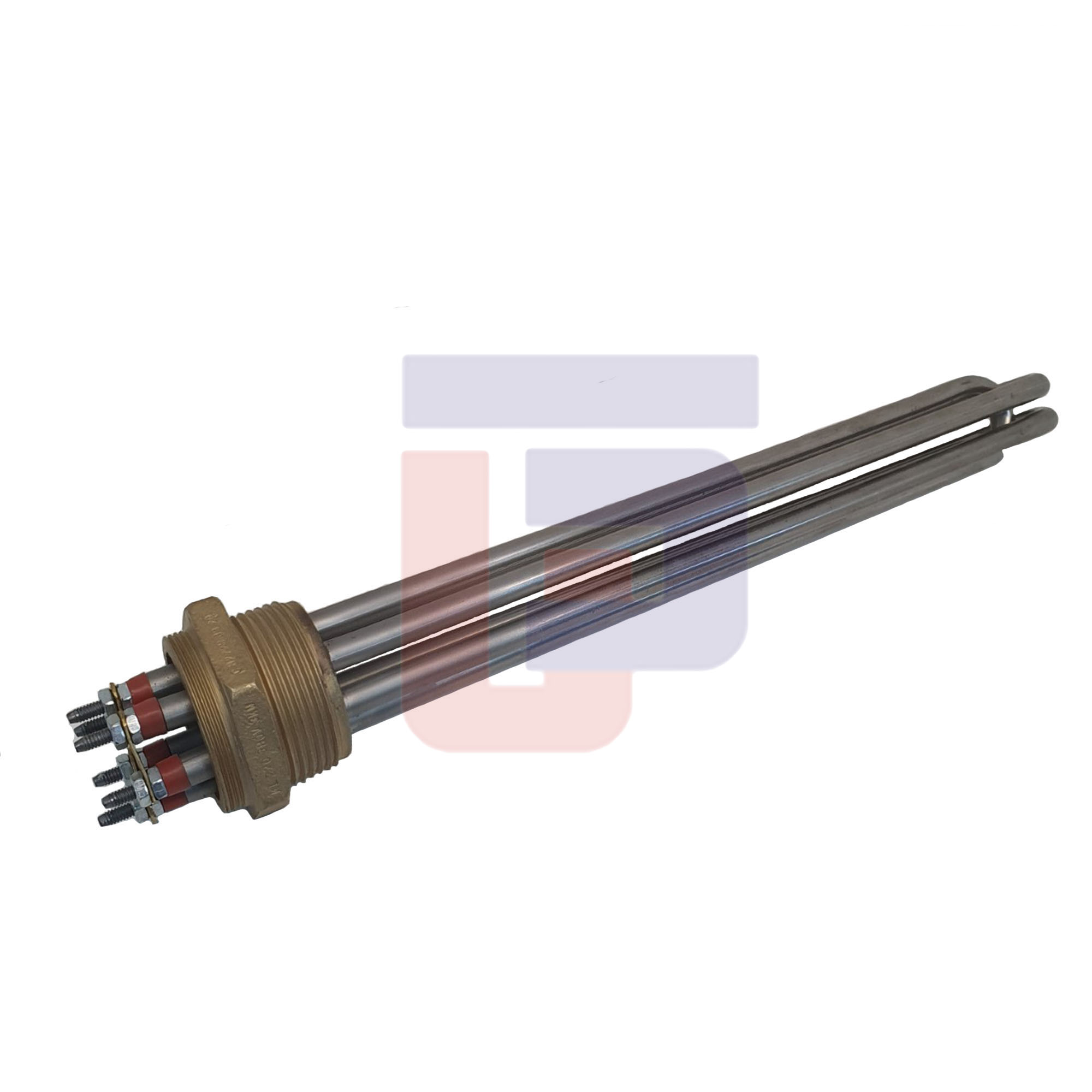 "Resistência Elétrica Rosca 1.1/2""BSP 300MM 220/380V"
