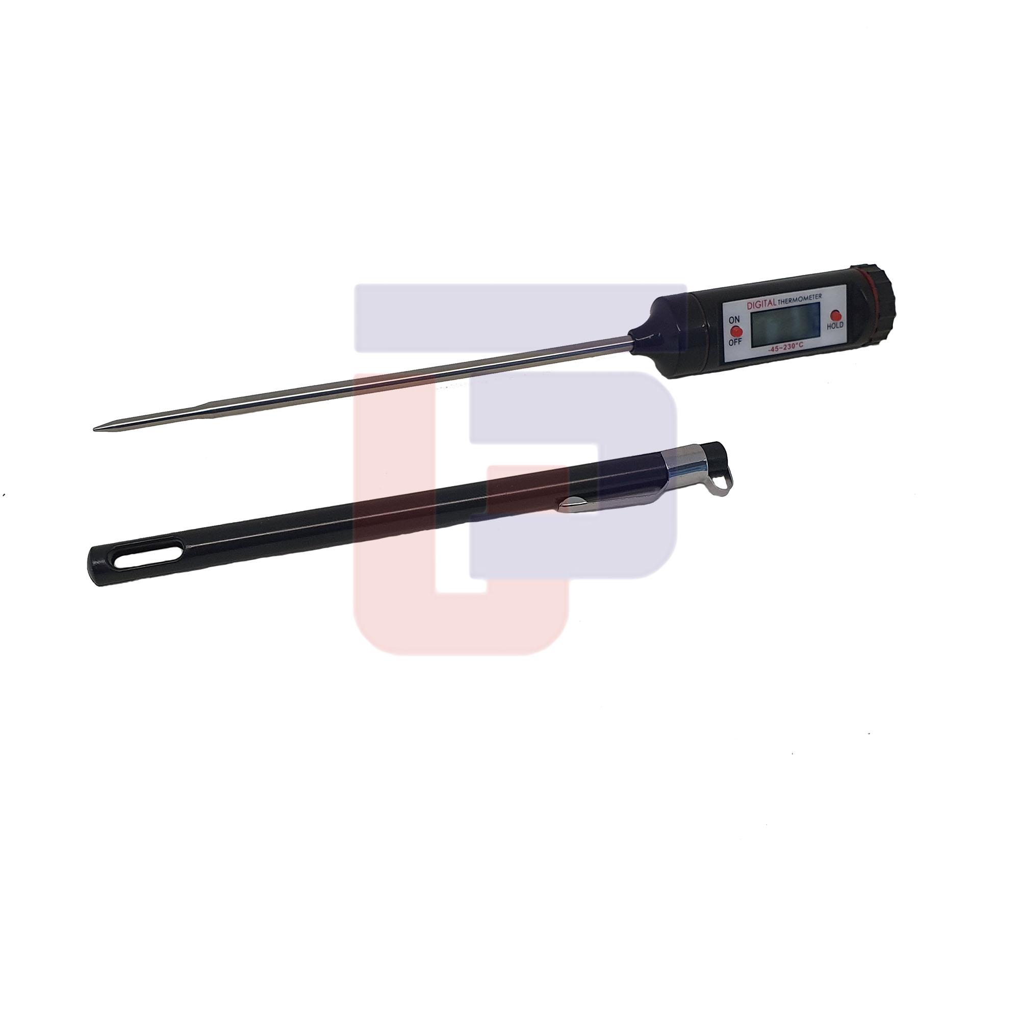 Termômetro Digital Tipo Espeto c/ Capa Protetora Incoterm