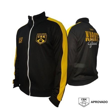 Casaco Oficial CBK Black - Versão preto e amarelo