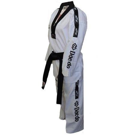 Dobok Daedo Master Fighter Gola Preta - Selo WT