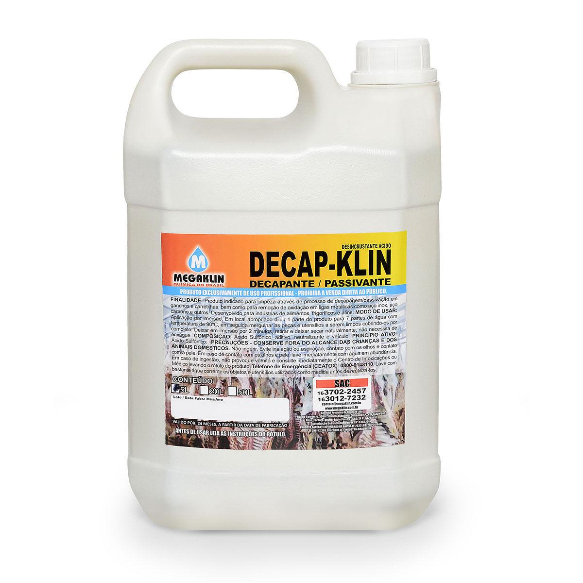 Decapante / Passivante Decap-Klin Megaklin