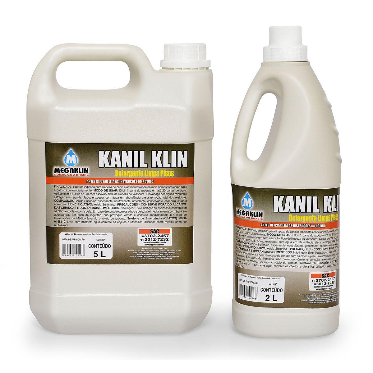 Detergente Limpa Pisos Kanil Klin Megaklin