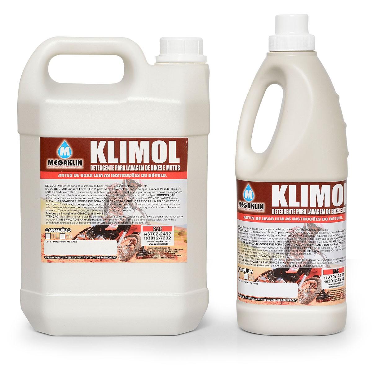 Detergente para Lavagem Automotiva Klimol Megaklin