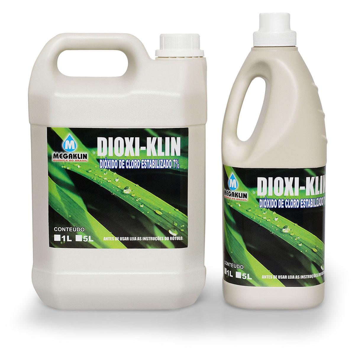 Dióxido de Cloro Estabilizado 7% Dioxi-Klin Megaklin