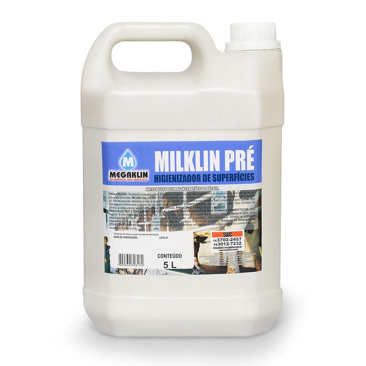Higienizador de Superfícies Milklinpré Megaklin