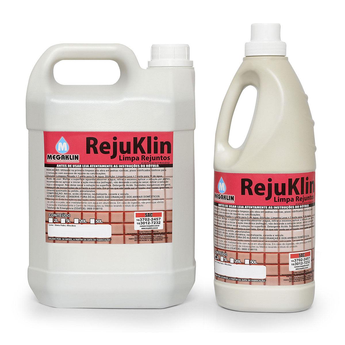 Limpa Rejuntos – Concentrado  Rejuklin Megaklin