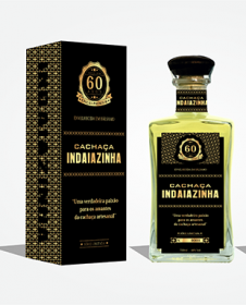 Cachaça Indaiazinha edição especial 60 anos
