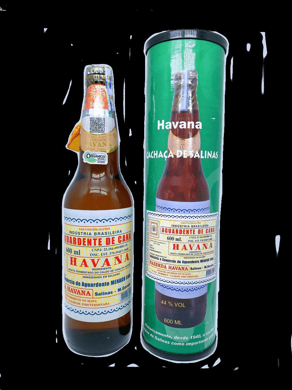 Cachaça Havana embalagem especial