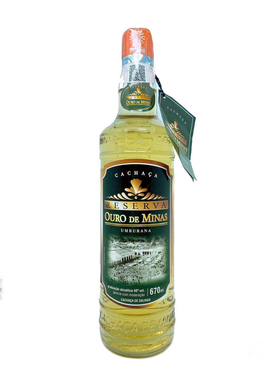 Cachaça Reserva Ouro de Minas 700ml