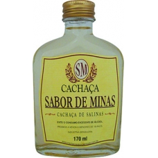 Cachaça Sabor de Minas 170ml bolso