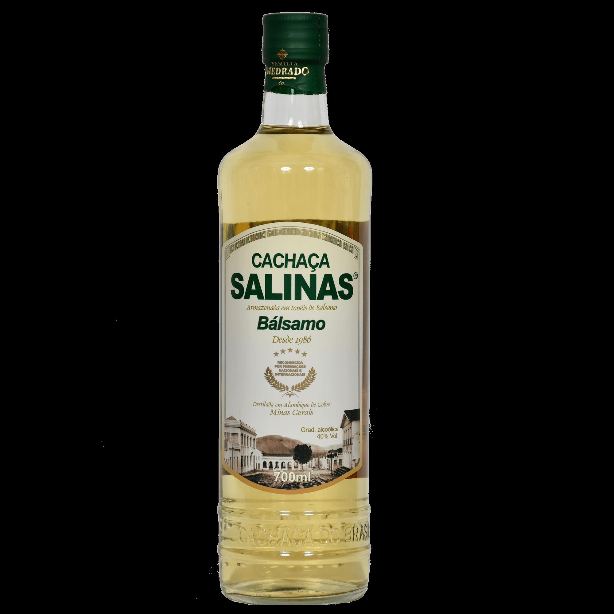 Cachaça Salinas Balsamo 700ml