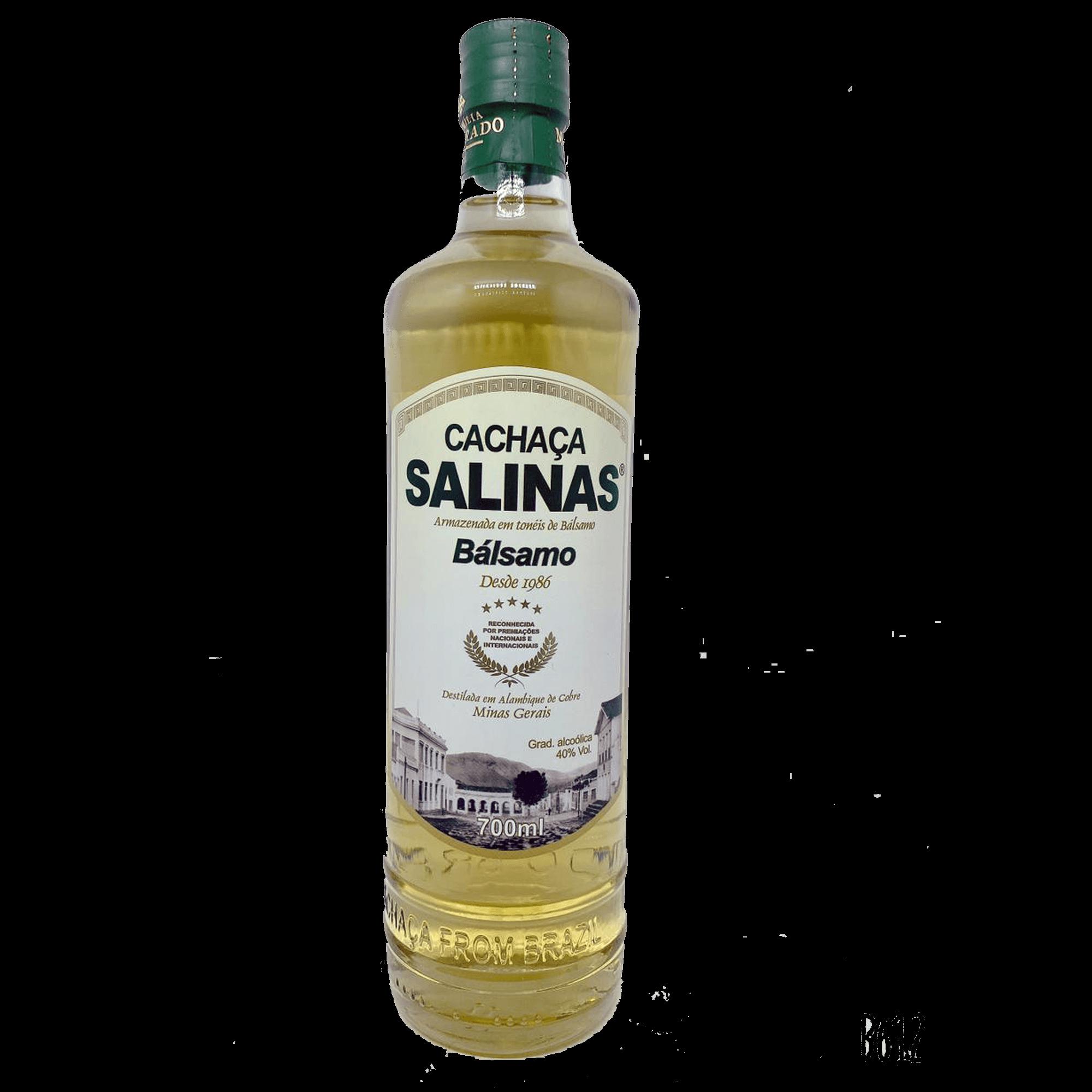 Cachaça Salinas Balsamo