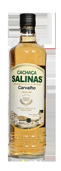 Cachaça Salinas Carvalho 700ml