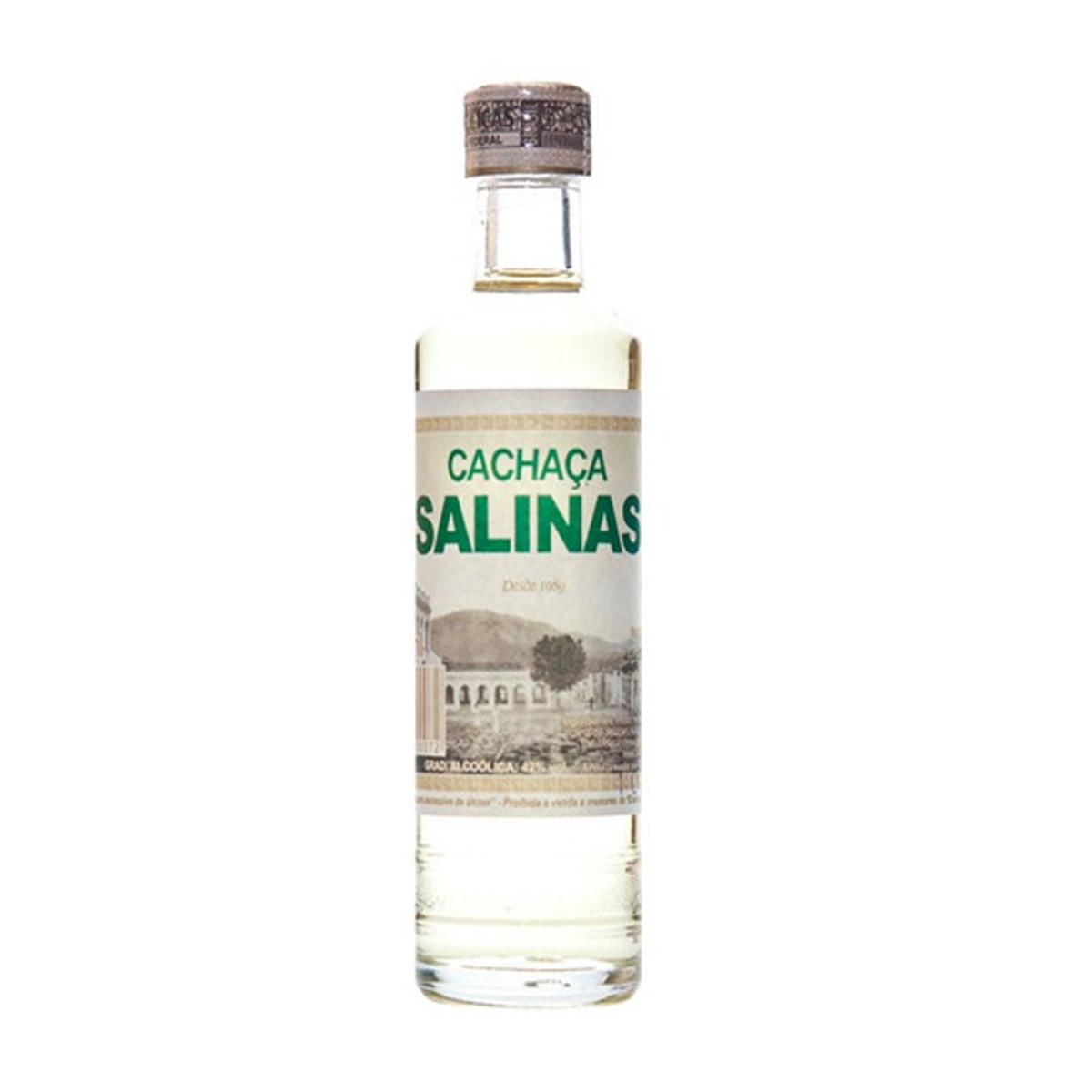 Cachaça Salinas miniatura 50 ml