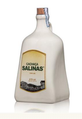 Cachaça Salinas Porcelana Tradicional 700ml