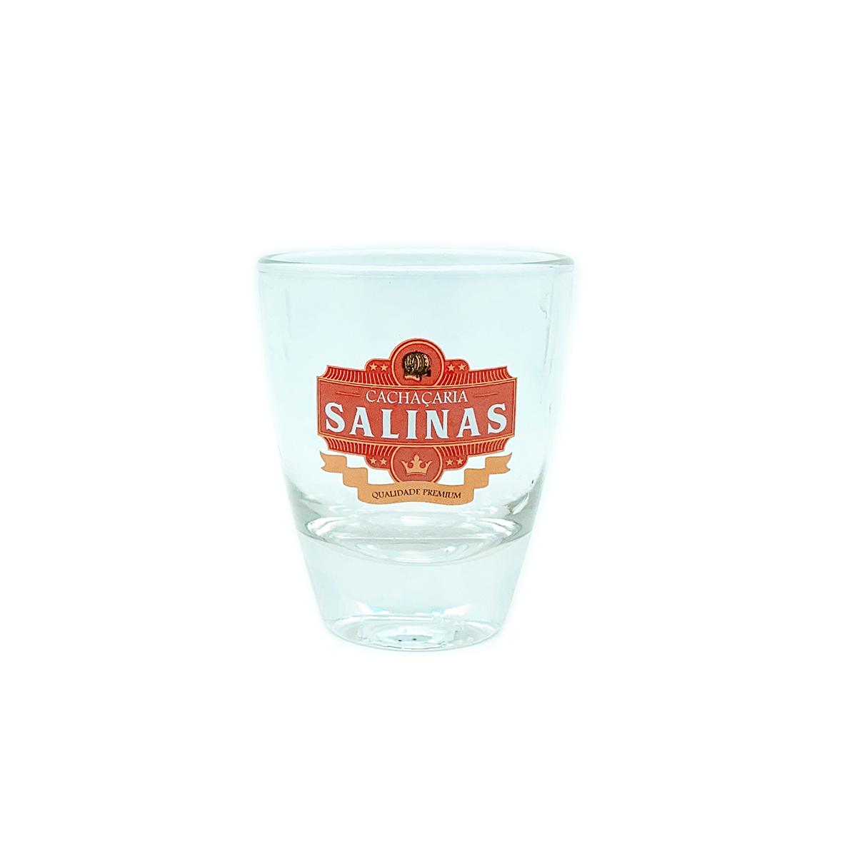 Copo vidro Cachaçaria Salinas 60ml